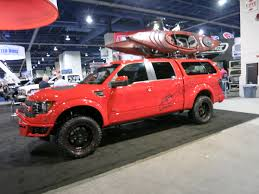 SEMA 2013: Raider's F-150 Ready For The Outdoors In Red ... Sema 2013 Trucks Monday Truckin Outside 105 Chevrolet Sema Truck Concepts Strong On Persalization And Suv Mega Gallery Photo Image Bangshiftcom Buggies Winches Light Bars Week Ep 3 Best Of Full Hd Vol 2 Youtube Mad Industries 675 Horsepower Street F150onlinecom Show Mini Magazine Off Road 201337 Speedhunters Bdss Project Ram 3500 Bds 20138