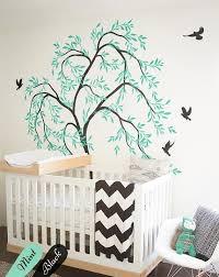 stickers chambre bébé arbre chambre d enfant arbre stickers muraux avec oiseaux mignons aussi