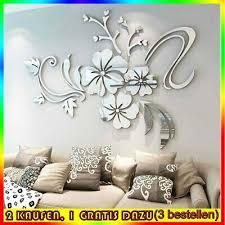 wohnzimmer wanduhren moderne design spiegel uhr dekoration