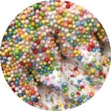 Unicorn Cereal Glitter Slimes
