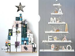 Shelf Trees Modern Christmas Table Decoration Ideas
