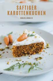 saftiger karottenkuchen vegan karotten kuchen