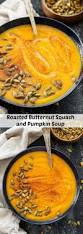 Spicy Pumpkin Butternut Squash Soup by Roasted Butternut Squash And Pumpkin Soup Recipe Runner