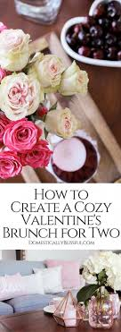 How To Create A Cozy Valentines Brunch For Two