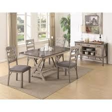 Bluestone Dining Room by 7 Pcs Dining Table Set With Bluestone Laminate Top B106321