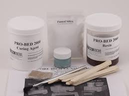Pillar Bedding Kit by Pro Bed 2000 Stock Bedding Epoxy The Ultimate Stock Bedding