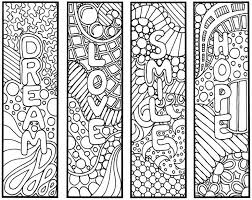 Bildresultat For Reading Bookmark Coloring Pages