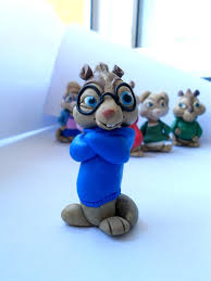Alvin And The Chipmunks Cake Toppers by 7 Best Cake Toppers Images On Pinterest Cake Toppers Alvin And