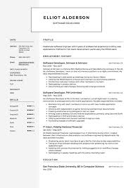 Software Developer Resume, Sample, Example, Template | Resume ... Cover Letter Software Developer Sample Elegant How Is My Resume Rumes Resume Template Free 25 Software Senior Engineer Plusradioinfo Writing Service To Write A Great Intern Samples Velvet Jobs New Best Junior Net Get You Hired Top 8 Junior Engineer Samples Guide 12 Word Pdf 2019 Graduate Cv Eeering Graduating In May Never Hear Back From