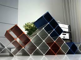 Esthys intros a futuristic wine rack with modular features HomeCrux
