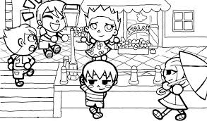 Animal Crossing Coloring Pages Best