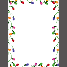Free Printable Christmas Border Templates