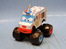 Mattel Cars Toon Monster Truck Mater Diecast: I Screamer (2010 ...