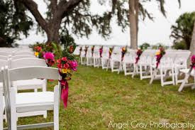 Merritt Island Wedding: Sam And Pete - A Chair Affair, Inc. 16 Easy Wedding Chair Decoration Ideas Twis Weddings Beautiful Place For Outside Wedding Ceremony In City Park Many White Chairs Decorated With Fresh Flowers On A Green Can Plastic Folding Chairs Look Elegant For My Event Ctc Ivory Us 911 18 Offburlap Sashes Cover Jute Tie Bow Burlap Table Runner Burlap Lace Tableware Pouch Banquet Home Rustic Decorationin Spandex Party Decorations Pink Buy Folding Event And Get Free Shipping Aliexpresscom Linens Inc Lifetime Stretch Fitted Covers Back Do It Yourself Cheap Arch