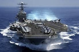 Uss America Sinking Photos by Carrier Will Not Be Sunk By North Korean Missiles Four Star Says