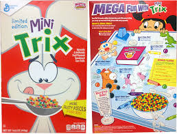 Mini Trix Cereal Profile