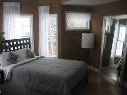 Interesting Master Bedroom Ideas For Small Space With Classic Dark Wooden Bed Frame Design And Likable