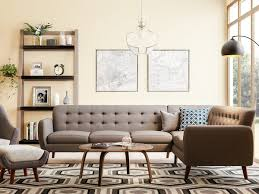 100 Modern Furnishing Ideas 20 MidCentury Living Room Overstockcom