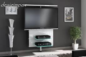 tv wand h 999 weiß hochglanz drehbar tv rack lcd tv