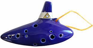 Zelda Triforce Lamp Uk by Amazon Com Legend Of Zelda Ocarina Of Time Flute Replica Toys