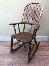C19th Broad Arm Windsor Rocking Chair   613533   Sellingantiques.co.uk Windsor Rocking Chair For Sale Zanadorazioco Four Country House Kitchen Elm Antique Windsor Chairs Antiques World Victorian Rocking Chair English Armchair Yorkshire Circa 1850 Ercol Colchester Edwardian Stick Back Elbow 1910 High Blue Cunningham Whites Early 19th Century Ash And Yew Wood Oxford Lath C1850 Ldon Fine