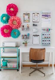 Decorate Your Work Space With Quirky Accessories Like These Oversized Paper Flowers To Make