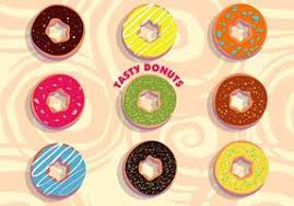 Tasty Donuts Vector