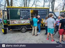 Burrito And Taco Food For Sale During Food Truck Festival In Warsaw ...