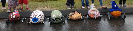 Mike Wazowski Pumpkin Design by Betty Shibles Memorial Scarecrow Fest And Pumpkin Derby Is Oct 21