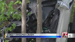 100 Craigslist Eastern Nc Cars And Trucks 2 Injured After Street Sweeper Runs Off Road Slams Into Trees In Cary