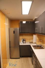 flat led light for a kitchen with an airy feel 72w 354 00