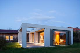 100 House And Home Pavillion Glass And Concrete Pavilion Extends TimberPaneled In Leipzig