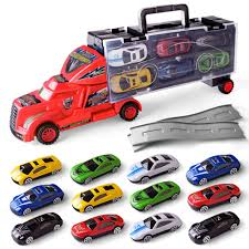 100 Toy Car Carrier Truck Buy DrOX Transport Rier With Track Slide And