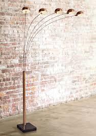 Curved Floor Lamp Copper by Copper Floor Lamp Elegant Copper Retro Ball Floor Lamp Furniture