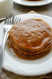 Easy Healthy Pumpkin Pancake Recipe by Whole Wheat Pumpkin Pancakes Mother Thyme