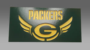Green Bay Packers Pumpkin Carving Ideas by Green Bay Packers Scroll Saw Art Wall Art Wall Decor