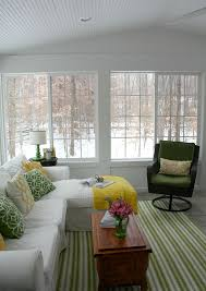 The View From My Sunroom On A Snowy Winter Day DecoratingSunroom IdeasPorch