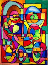 Picasso Abstract Paintings Art Picassos Smile Artist Chris Jeanguenat