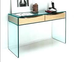 bureau verre console verre fly bureau table console verre fly loftsessions co