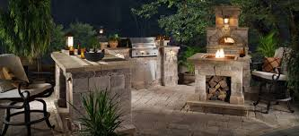 Bbq Pit Sinking Spring by Prefab Bbq Island With Fire Pit And Wood Burning Pizza Oven