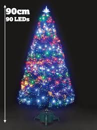 Colour Changing Fibre Optic Christmas Tree Artificial Xmas