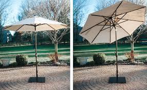 9 Ft Patio Umbrellas With Tilt by Amazon Com Abba Patio 9 U0027 Patio Umbrella Outdoor Table Market