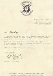 Hogwarts Letter Third Year 12 English By Desiredwings On DeviantArt
