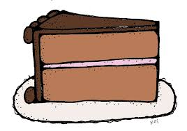 Chocolate clipart sliced cake 3