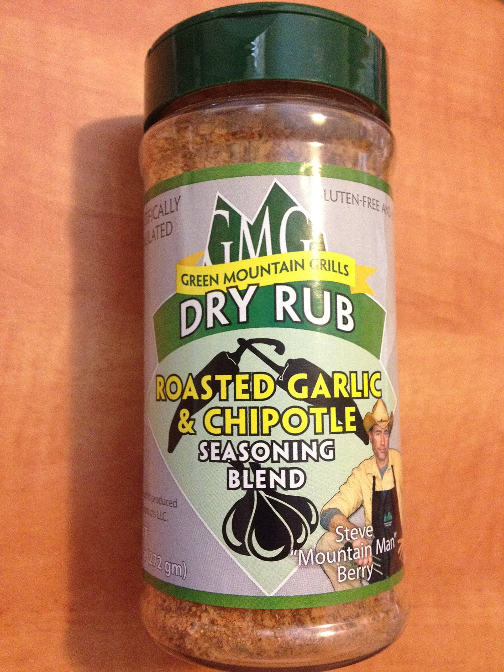 Green Mountain Grills Roasted Garlic Chipotle - Dry Rub