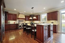 Galley Kitchen With Island At End Fair 64 Deluxe Custom Designs Beautiful 2017