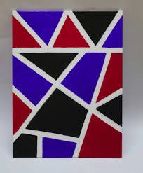 Tape Masking Canvas Art 847x1024e Home Design Arts 11i Top