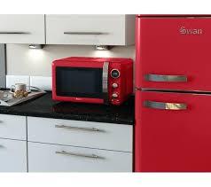 Retro Microwaves Swan Digital Microwave