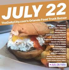 100 Orlando Food Truck Bazaar The Daily Citys Home Facebook