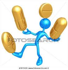 Take Medicine Clipart Balancing Medication